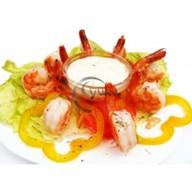 Креветки в чесночном соусе Фото