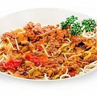 Болоньезе спагетти Фото