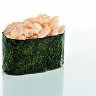 Суши салатная креветка масаго Фото