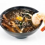 Острый суп-лапша удон Фото