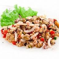 Тепаньяки с морепродуктами Фото