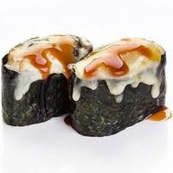 Суши запеченные под сыром Фото