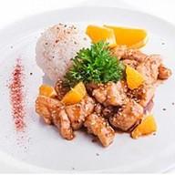 Курица в соусе камамбер Фото