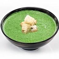 Суп-пюре из шпината Фото