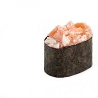 Гункан сливочный лосось Фото