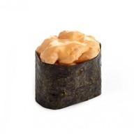 Суши спайси креветка Фото