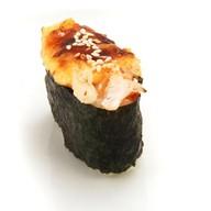 Суши с запеченным снежным крабом Фото