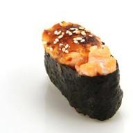 Суши с запеченным лососем Фото