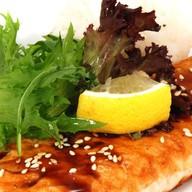 Стейк из лосося в соусе Терияки Фото