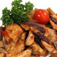 Свинина в имбирном соусе с картофелем Фото