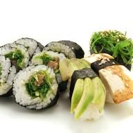 Вегетарианский суши сет Фото