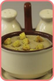 Суп-пюре грибной - Фото