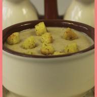 Суп-пюре грибной Фото