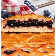 Сладкий пирог с черникой Фото