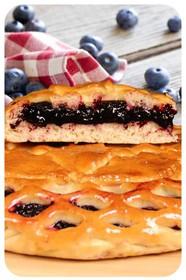 Сладкий пирог с черникой - Фото