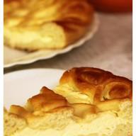 Сладкий пирог с творогом Фото
