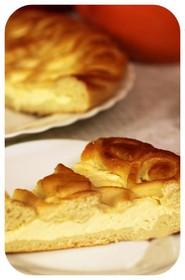 Сладкий пирог с творогом - Фото