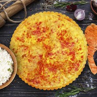 Французский с рыбой и рисом киш Фото