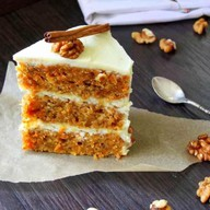 Торт морковный Фото