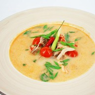Азиатский суп Том ям с креветками Фото
