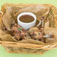 Куриные крылышки с соусом барбекю Фото