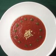Томатный суп с кедровыми орешками Фото
