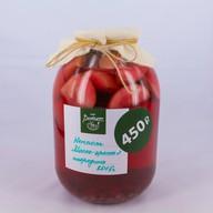 Из яблок с красной смородиной Фото