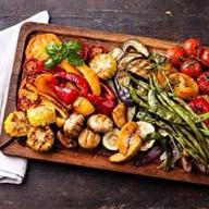 Овощи запеченные на мангале Фото