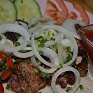 Шашлык из баранины (мякоть) Фото