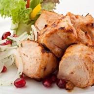 Шашлык из курицы (филе бедра) Фото