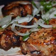 Шашлык Чалагач из свинины Фото