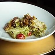 Теплый салат с говядиной и овощами Фото