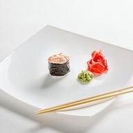 Спайси гункан с лососем Фото