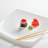 Спайси гункан с креветкой Фото