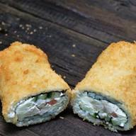 Сэндвич ролл Сытый папа (овощи) Фото