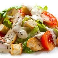 Цезарь овощной салат Фото