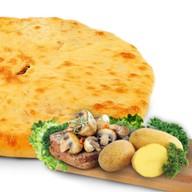 Картошка, курица и грибы Фото