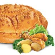 Курица и картошка Фото