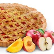 С яблоком и персиком Фото