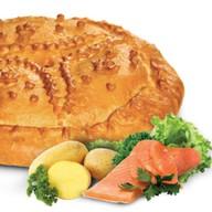 Семга и картошка Фото