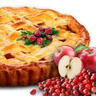 С брусникой и яблоками Фото