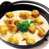 Крем-суп с сухариками Фото