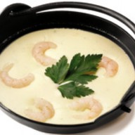 Крем-суп с курицей Фото