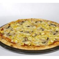 Пицца Курица с грибами Фото