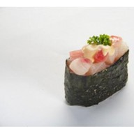 Запеченные суши - Окунь Фото