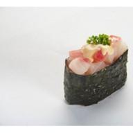 Острые суши - Окунь Фото