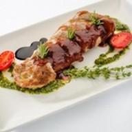 Свинина со сливовым соусом Фото