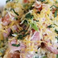 Салат с ветчиной и сыром Ланч Фото
