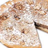 Пирог с грецкими орехами Фото