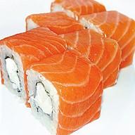 Филадельфия грин с лососем Фото